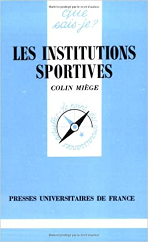 Lire un Les Institutions sportives pdf epub