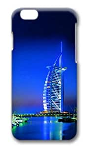 MOKSHOP Adorable Dubai building Hard Case Protective Shell Cell Phone Cover For Apple Iphone 6 Plus (5.5 Inch) - PC 3D by ruishername