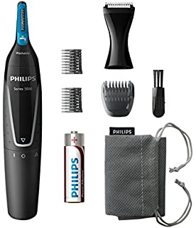 Philips Series 5000 Beard and Stubble Trimmer with Full Metal Blades ... 762df06b1e9