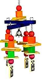 Bonka Bird Toys 1491D Kisses Dice Bird Toy parrot cage toys cages african grey conure amazon eclectus