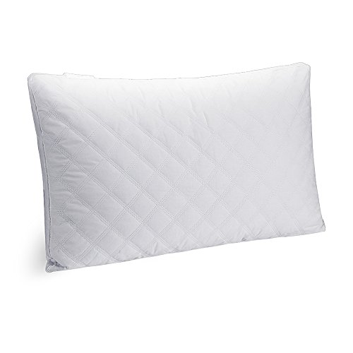 beegod Soft Pillow for Sleeping, Hypoallergenic and Fluffy Down-Like Pillow with 100% Fine Fiber Filling, Dust and Mite Repellent, White - King Warehouse Burger