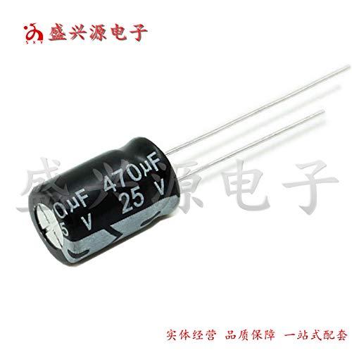 Gimax 20PCS Higt 25V470UF 812mm Electrolytic capacitor