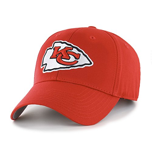 NFL Kansas City Chiefs OTS All-Star MVP Adjustable Hat, Red, One -