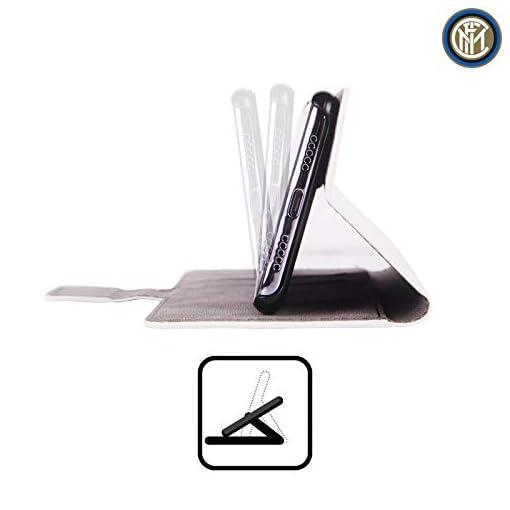 Ufficiale Inter Milan 2018/19 Crest Cover in Pelle a Portafoglio Compatibile con Huawei Telefoni