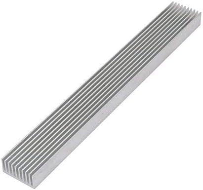 NA 3Pcs Diffuse Heat Sink Chipset Aluminum Heat Sink Cooling Fin 196mmx25mmx12mm