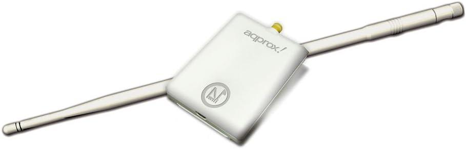 Approx APPUSB150H3 - Adaptador USB N inalámbrico (150Mbps + 11dBi)