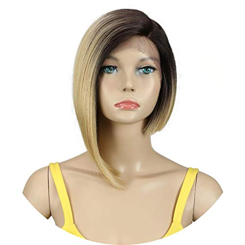 Wigs For Black Women Straight Synthetic Lace Front Hair 12