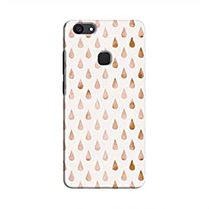 Cover It Up - Raindrops Pale Pink Pastel V7 Plus Hard Case