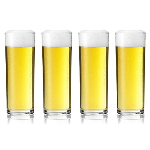 Stange Kolsch German Beer Glass - 200ml - Set of 4 Glasses