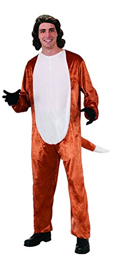 Fox Adult Costume (Jumpsuit Only - No Hat)