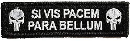 (Tactical Patch - If You Want Peace, Prepare for war - Black)