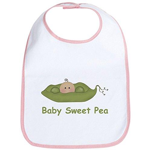 CafePress - One Baby Sweet Pea Bib - Cute Cloth Baby Bib, Toddler (Sweet Pea Infant Bib)