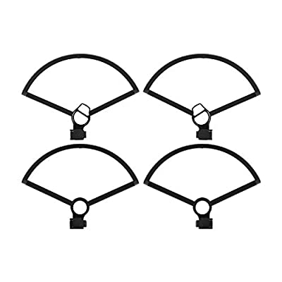 RC GearPro 4PCS Uick-Release Prop Guards Propellers Guard Protection Ring for DJI Mavic Mini Drone (Black): Electronics