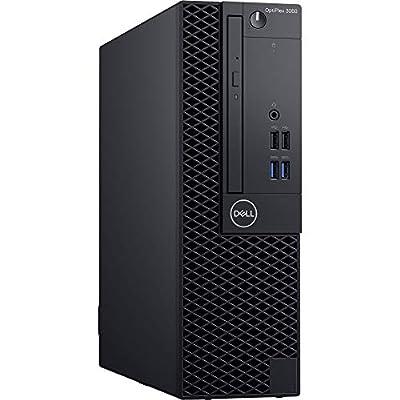 Dell OptiPlex 3060 SFF Desktop Computer Intel Core i3-8100 3.6 GHz Quad-Core, 4GB RAM, 500GB HDD (FJDC2)