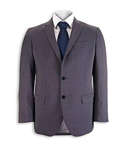 Icona by Alexandra Workwear Mens Icona Slim Fit Jacket Charcoal 50 T by Icona by Alexandra