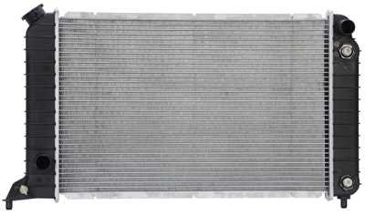 (Prime Choice Auto Parts RK608 New Complete Aluminum Radiator)
