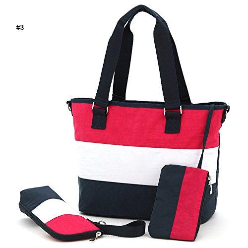 Global- Moda extraña de viaje esencial multifunción mochila, poliéster de gran capacidad paquete de la momia, mujeres embarazadas multifunción Salir mochila ( Color : # 6 ) # 3