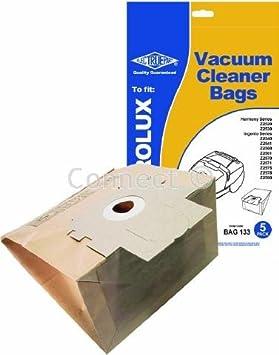 Al vacío bolsas para aspiradora Electrolux Z2520/2530 E37 ...