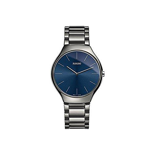Rado True Thinline Blue Dial Mens Watch R27955022