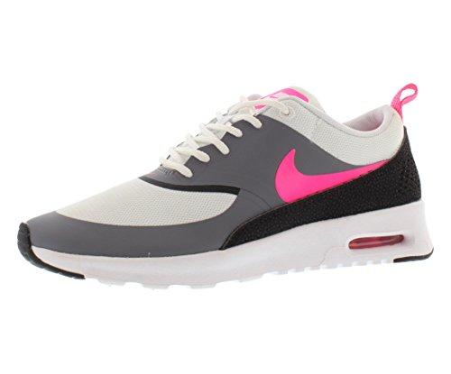 Nike Vrouwen Air Max Thea Se Hardloopschoen Witte Hyper Roze Cool Grey Black 100