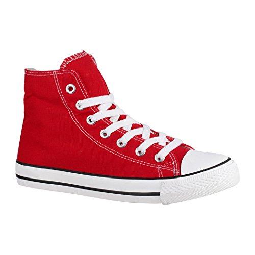 Elara Unisex Kult Sneaker | Comodo Sport Scarpe Per Uomo e Donna | High Top Tessile Scarpe Rot Basic