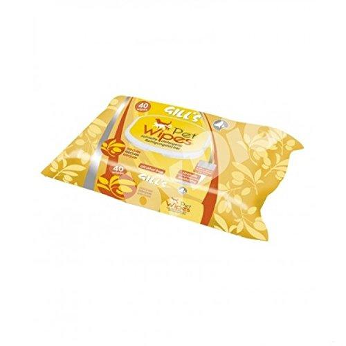 Gill's salviette detergenti umidificate all'olio di Argan 40 pz. Gill' s