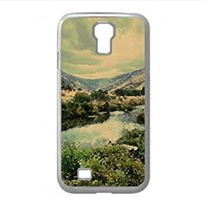 Landscape Nature 14 Watercolor style Cover Samsung Galaxy S4 I9500 Case (Landscape Watercolor style Cover Samsung Galaxy S4 I9500 Case)