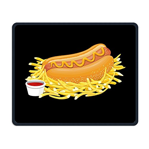 Hot Dog With Ketchup Smooth Nice Personality Design Mobile Gaming Mouse Pad Work Mouse Pad Office Pad -