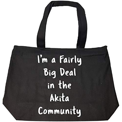 stic Funny Saying Pet Dog Lover Gift - Tote Bag With Zip ()