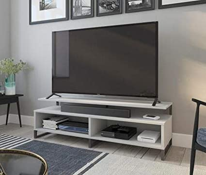 outlet store 4d2aa 442bd Amazon.com: Tv Stand For 65 Inch Tv - Gray Wood with ...
