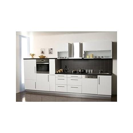 Mebasa MCZL975SW cucina con angolo cottura, componibile, 370 cm ...