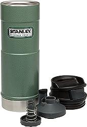 Stanley Classic One Hand Vacuum Mug 16oz473 Ml - Hammertone Green