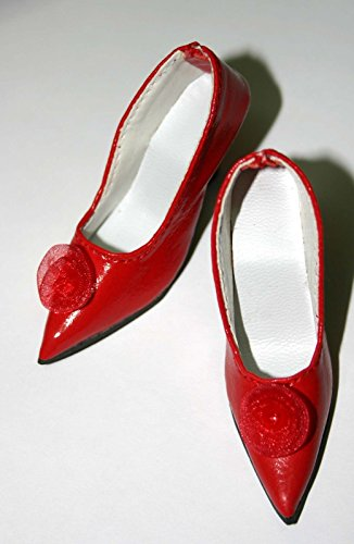 64mm My Fair Lady Doll Shoes fit Cissy - Red