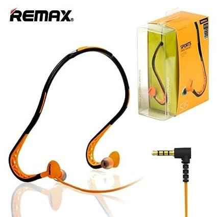 f657eeb7cb5 REMAX S15 In-Ear Sports Sweat-proof Neckband Earphones: Amazon.in:  Electronics