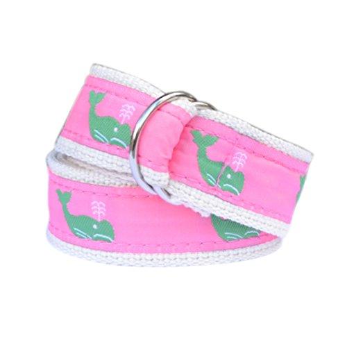 - Bean Belts Girls Preppy Whale Belt (Large (6-8))