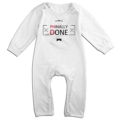 Price comparison product image Niguvlpo Phinally DoneBaby Long Sleeve Jumpsuit Baby