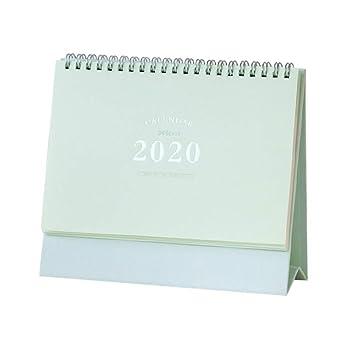 STOBOK Calendario de escritorio 2020 calendario de escritorio ...