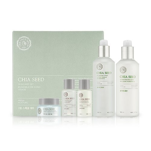 [The Face Shop] Chia Seed Watery SET (Chia Seed Water 100 Toner + Lotion) from The Face Shop