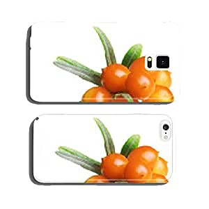 Sea buckthorn isolated cell phone cover case Samsung S5