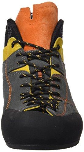 Boreal Climbing Botas Flyers Para Hombre Mid Grey Yellow Orange 32115