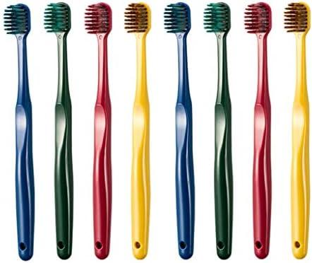 柔らかい歯ブラシ毛ワイドヘッド8パックスーパーファインソフト歯科口腔ケア歯ブラシスーパージェントルファミリーパックコンビネーションパック