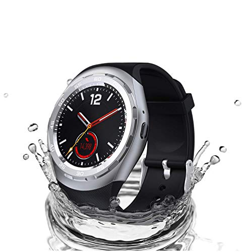 Bluetooth Smart Watch, Nextrend Touch-Screen splash-proof Smartwatch Support Fitness Trackers Monitors, Sports Wrist Watch Pedometer Compatible with IOS Android Samsung Iphone Huawei for Kid Men Women
