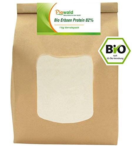 BIO Erbsenprotein 82% - Isolat - 1 kg Pulver