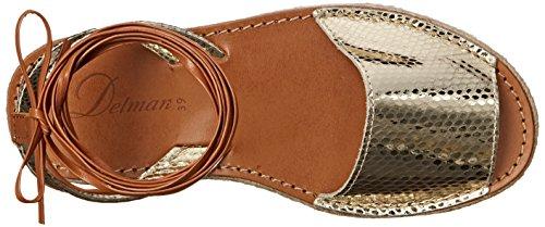Delman Mist Donna US 10 Oro Sandalo