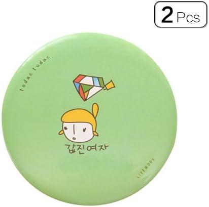Tong Yue 2pcs/Pack portátil Carcasa para Mini Ronda Espejo de ...