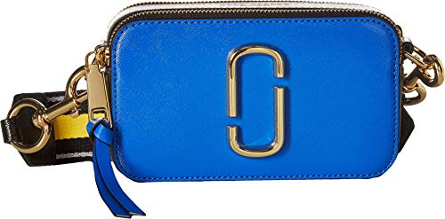 Bag Blue Camera Large Extra - Marc Jacobs Women's Snapshot Camera Bag, Blue Multi, One Size