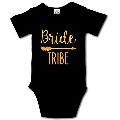 HUDS VIFV Bride Tribe Baby Unisex Short Sleeve Onesies Bodysuits ()