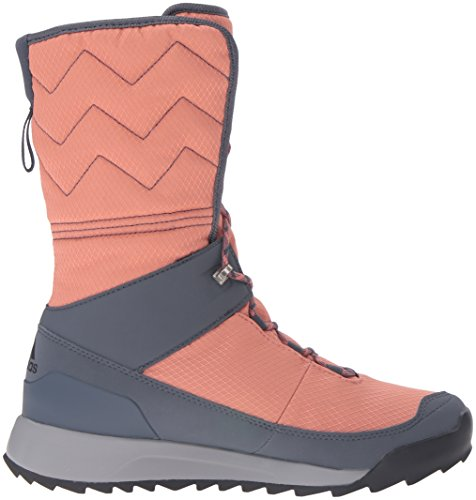adidas Utility High CW outdoor Pink M Boot Black 10 Blue US Choleah Women's CP Snow Raw Leather T1ITqr7xw