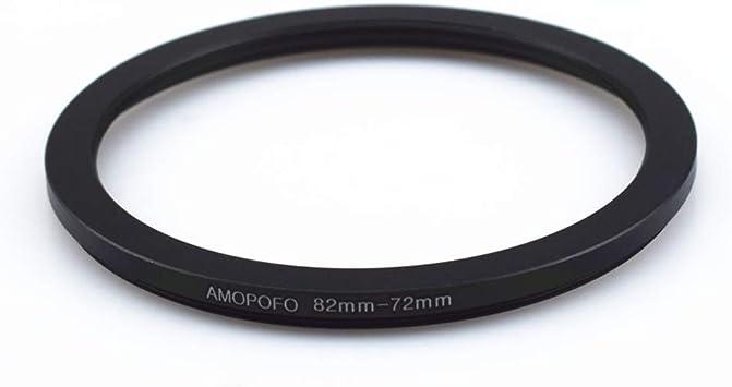 Anillo Adaptador de Metal de 37mm a 49mm para Lentes de c/ámara Canon,Nikon,Sony,Fuji,M4//3 a UV filtros de c/ámara CPL de CNC mecanizado;37mm a 49mm Step-Up Anillos filtros ND