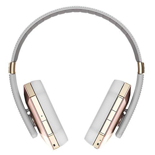Ghostek soDrop Pro Wireless Headphones with Built-in Microphone - Pink/White